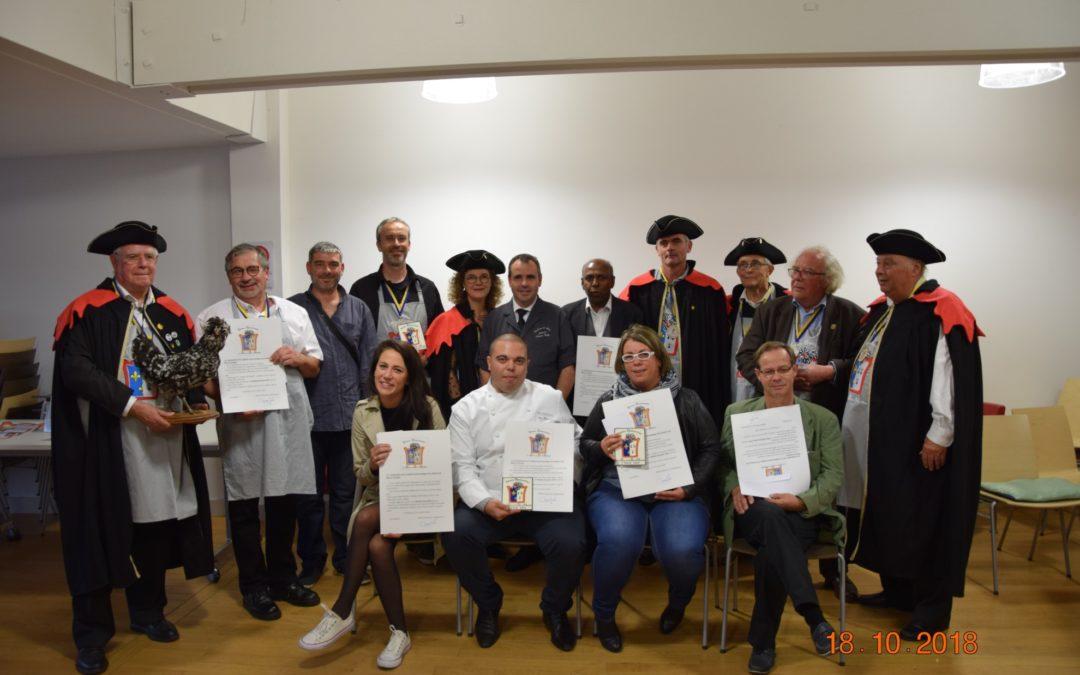 Concours de dégustation du pâté de Houdan, Ile-de-France - Lauréats - Résultats