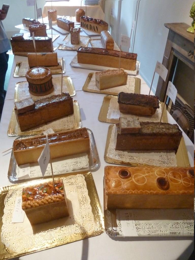 Concours annuel de dégustation de pâté de Houdan