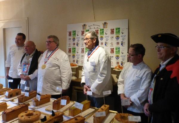 Concours de dégustation du pâté de Houdan