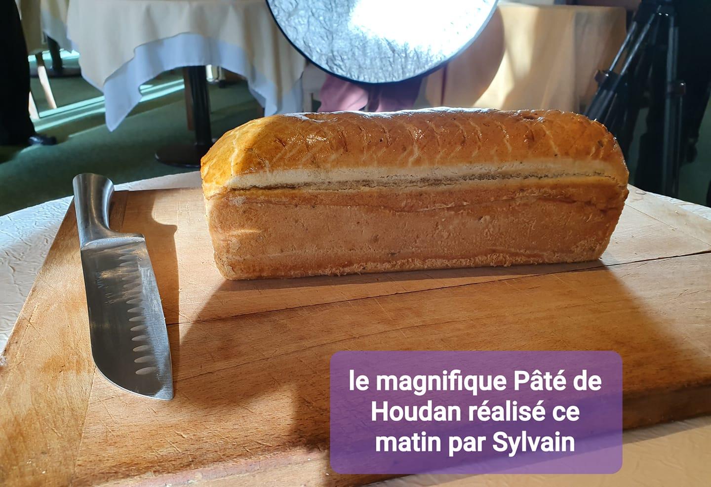 Pâté de Houdan réalisé par Sylvain Vandenameele de la Poularde