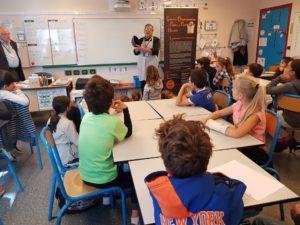Semaine du gout à l'école primaire de St Lubin de la Haye